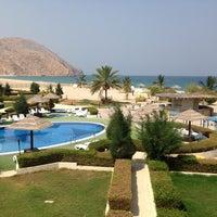 Photo taken at Golden Tulip Resort Dibba by Genevieve E. on 6/26/2014