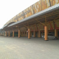 Photo taken at Stadion Kaharudin Nasution by Adhitya R. on 10/9/2012