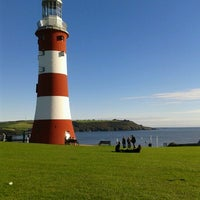 Photo taken at Plymouth Hoe by Melisa V. on 10/6/2012
