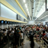 Photo taken at Check-in Azul by Babi S. on 10/7/2012