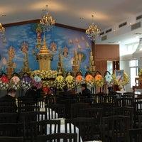 Photo taken at Wat Debsirin by Tanat B. on 1/25/2013