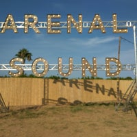 Photo taken at Arenal Sound by Paloma P. on 8/4/2016