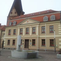 Photo taken at Rathaus Röbel by Rypzylon M. on 9/21/2012