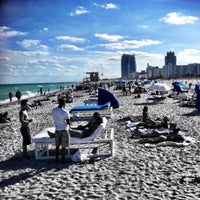 Photo taken at South Beach by ticarsil on 10/27/2013