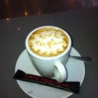 Photo taken at Cafe Tortoni by Sandra on 1/27/2013