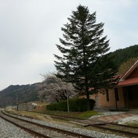 Photo taken at Byeoreogok Stn. by youngmin K. on 4/28/2013