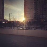 Photo taken at Хоккейная Коробка by Николай К. on 3/10/2013