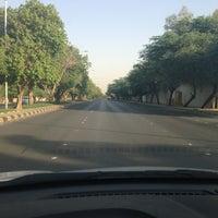 Photo taken at King Khaled Rd by Abdullah F. on 6/24/2013