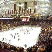 Photo taken at Mariucci Arena by ESPNU RoadTrip on 11/3/2012