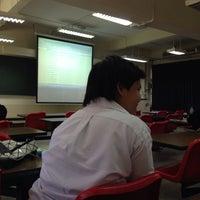 Photo taken at Bangkok University RA7306 by Nantanee T. on 1/24/2014