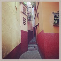 Photo taken at Callejón del Beso by Victorius V. on 3/15/2013