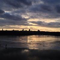 Снимок сделан в Русанівський парк пользователем Максим Т. 3/17/2013