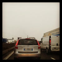 Photo taken at A4 - Barriera Milano Ghisolfa by Gabel G. on 12/17/2012