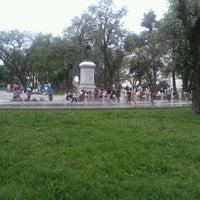 Photo taken at Plaza Belgrano by Emilio L. on 11/11/2012