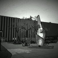 Photo taken at UWM Physics Building by Justin W. on 10/31/2012
