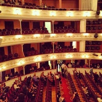 Photo taken at Lesya Ukrainka Theater of Russian Drama by Vitalik F. on 3/8/2013