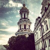 Photo taken at Kyiv Pechersk Lavra by Vitalik F. on 5/12/2013