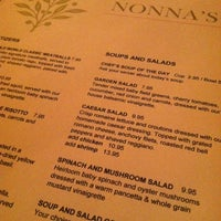 Photo taken at Nonna's Restaurant by Isabelle A. on 9/29/2012