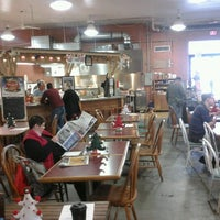 Photo taken at Five Points Market & Get Fresh Cafe by Third R. on 12/1/2012