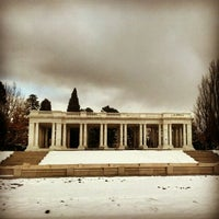 Photo taken at Cheesman Park by Casey D. on 1/29/2013