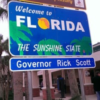 Photo taken at Florida Welcome Center (I-95) by Fanny W. on 2/1/2013