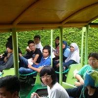 Photo taken at Kebun buah bhakti alam by Ahmad H. on 2/14/2013