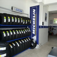 Photo taken at Michelin-Güven Lastik by Uğur F. on 9/2/2013