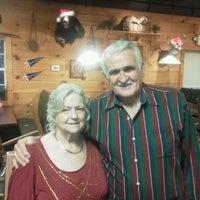 Photo taken at Huntin' Camp Bar B Q & Grill by Wayne on 12/23/2012