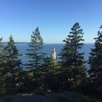 Photo taken at Point Atkinson Lighthouse by Thomas B. on 6/30/2016