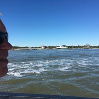 Photo taken at on a boat by Andie P. on 10/22/2016