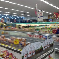 Photo taken at Super Muffato by Andre G. on 12/24/2012