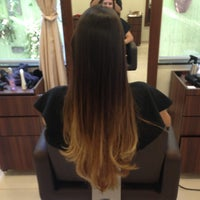 Photo taken at Sanches Hair Style by Fernanda G. on 3/2/2013