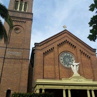 Photo taken at Sacred Heart Cathedral by Tam F. on 11/7/2012