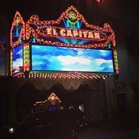 Photo taken at El Capitan Theatre by Luis R. on 5/18/2013