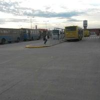 Photo taken at Nueva Terminal Puente la Noria by Jona R. on 9/30/2014