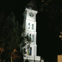 Photo taken at Jam Gadang by Adie M. on 9/15/2012