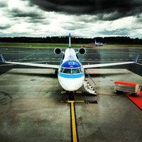 Photo taken at Lennart Meri Tallinn Airport (TLL) by Natalia S. on 7/21/2013