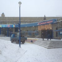 Photo taken at Бассейн «Радужный» by Mikhail M. on 1/17/2013