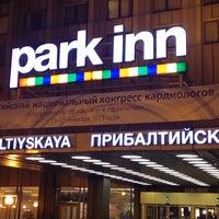 Снимок сделан в Park Inn by Radisson Прибалтийская пользователем Антон Р. 9/24/2013