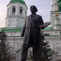 Photo taken at Памятник В.И. Сурикову by Антон Р. on 5/18/2013