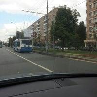 Photo taken at Остановка «Хамовнический Вал» by George S. on 7/14/2016