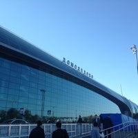 Снимок сделан в Международный аэропорт Домодедово (DME) пользователем Natali E. 9/17/2012