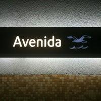 Photo taken at Metro Avenida [AZ] by Alessio G. on 2/6/2013