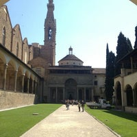 Photo taken at Basilica of Santa Croce by Alessio G. on 4/17/2013