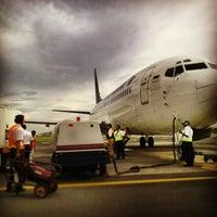 Photo taken at Semarang airport by Rio N. on 7/12/2013