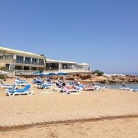 Photo taken at Pernera Beach by Maria N. on 5/5/2013