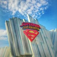 Снимок сделан в Superman: Escape From Krypton пользователем ⚓️ Dredd 🐪💨 7/24/2015