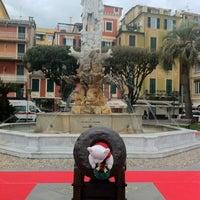Photo taken at Lungomare di Santa Margherita Ligure by BWHotel R. on 12/7/2012