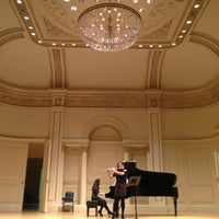Photo taken at Carnegie Hall by Angela K. on 10/27/2012