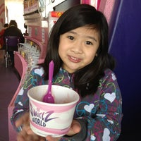 Photo taken at Swirlz World by Michelle D. on 1/20/2013